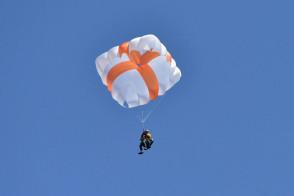 X-One paracaídas cudrado