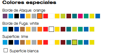 colores especiales iota advance